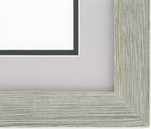 Custom Picture Frame Sku: AAM9004  1 1/2 Barnwood Grey