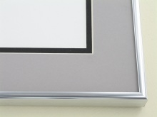 Custom Picture Frame Sku: N11-01  Silver