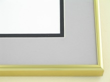 Custom Picture Frame Sku: N11-03  Gold