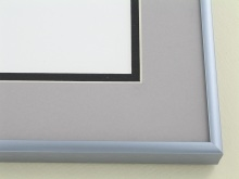 Custom Picture Frame Sku: N11-12  Frosted Pewter