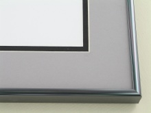 Custom Picture Frame Sku: N11-13  Contrast Grey