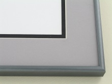 Custom Picture Frame Sku: N11-154  Florentine Grey