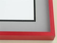 Custom Picture Frame Sku: N117-227  Tornado Red