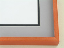 Custom Picture Frame Sku: N117-235  Tangerine Twist