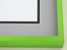 Custom Picture Frame Sku: N117-236  Cyber Green