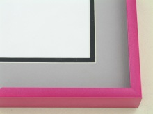 Custom Picture Frame Sku: N117-237  Raspberry Fizz
