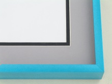 metal Custom Picture Frame Sku: N117-238  Turquoise