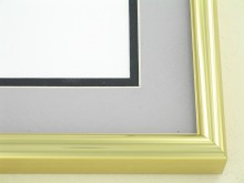 Custom Picture Frame Sku: N25-03  Gold