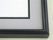 Custom Picture Frame Sku: N25-20  Anodic Black