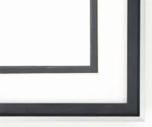 metal Custom Picture Frame Sku: N37-185  Profile 37 Jet Black