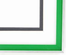 metal Custom Picture Frame Sku: N37-350  Profile 37 Kelly Gree