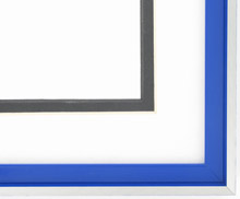 metal Custom Picture Frame Sku: N37-352  Profile 37 Stadium Blue