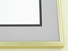 metal Custom Picture Frame Sku: N5-03  Gold
