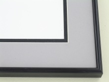 metal Custom Picture Frame Sku: N58-20  Anodic Black