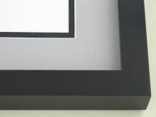 metal Custom Picture Frame Sku: N95-21  Matte Black