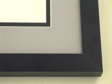 metal Custom Picture Frame Sku: N97-21  Matte Black