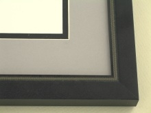 metal Custom Picture Frame Sku: N97-800  Beaded Florentine Black/gold Highlights