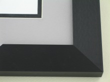metal Custom Picture Frame Sku: N99-421  Brushed Satin Black