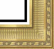 Custom Picture Frame Sku: P2000  4 3/8 Gold Ornate