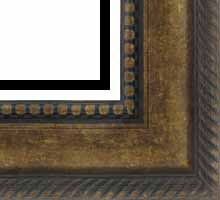 Custom Picture Frame Sku: P2003  3 5/8 Gold Ornate